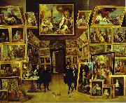 David Teniers Archduke Leopold William in his Gallery in Brussels oil painting picture wholesale