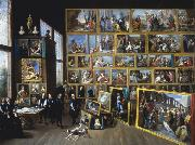 David Teniers Archduke Leopold William in his Gallery in Brussels-p oil painting picture wholesale