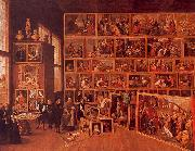 David Teniers The Archduke Leopold's Gallery oil painting picture wholesale