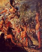 Adam  Elsheimer The Stoning of St.Stephen oil painting picture wholesale