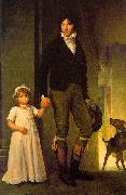 Jean-Baptiste Isabey and his Daughter
