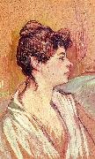 Henri  Toulouse-Lautrec Portrait of Marcelle oil painting picture wholesale