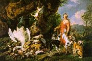 Jan  Fyt Diana with her Hunting Dogs Beside the Kill oil painting picture wholesale