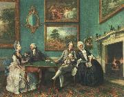 Johann Zoffany The Dutton Family oil painting
