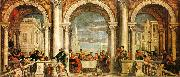 Paolo  Veronese Feast in the House of Levi oil painting picture wholesale