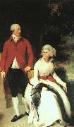 Sir Thomas Lawrence Portrait of Mr and Mrs Julius Angerstein oil painting picture wholesale