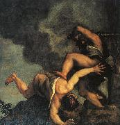 Titian Cain and Abel oil painting picture wholesale