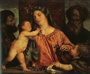 Titian Madonna of the Cherries oil painting picture wholesale