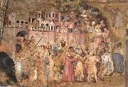 ANDREA DA FIRENZE Christ Bearing the Cross to Calvary oil painting picture wholesale