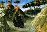 ANGELICO  Fra Saint Anthony the Abbot Tempted by a Lump of Gold oil painting