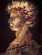 ARCIMBOLDO, Giuseppe The Fire jhjhjh oil painting