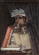 ARCIMBOLDO, Giuseppe The Librarian jj oil painting