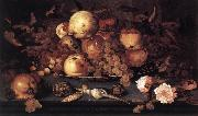 AST, Balthasar van der Still-life with Dish of Fruit  ffg oil painting picture wholesale