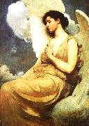 Abbot H Thayer Winged Figure oil painting