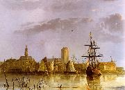 Aelbert Cuyp View of Dordrecht oil painting