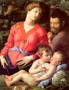 Agnolo Bronzino The Panciatichi Holy Family oil painting picture wholesale