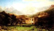 Albert Bierstadt The Rocky Mountains oil painting picture wholesale