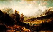 Albert Bierstadt Estes Park oil painting picture wholesale