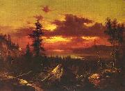 Albert Bierstadt View of the Parliament Buildings from the Grounds of Rideau Halls oil painting picture wholesale