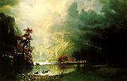 Albert Bierstadt Sierra Nevada Morning oil painting picture wholesale