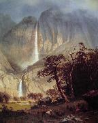 Albert Bierstadt The Yosemite Fall oil painting picture wholesale