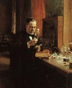 Albert Edelfelt Portrait of Louis Pasteur oil painting