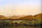 Alexandre Calame View of Geneva from Petit-Saconnex oil painting artist