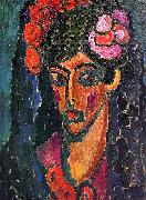 Alexei Jawlensky Spanish Woman oil painting picture wholesale