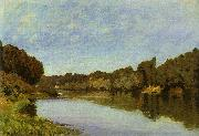 Alfred Sisley The Seine at Bougival oil painting