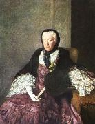 Allan Ramsay Mrs Martin oil painting