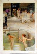 Alma Tadema Alma Tadema reproductions, photographed in  our studio oil painting picture wholesale