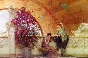 Alma Tadema Unconscious Rivals oil painting picture wholesale
