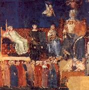 Ambrogio Lorenzetti Allegory of Good Government oil painting picture wholesale