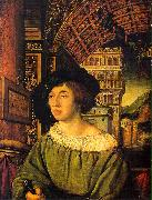 Ambrosius Holbein Portrait of a Young Man oil painting