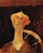 Amedeo Modigliani Portrait of Mrs. Hastings oil painting picture wholesale