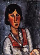 Amedeo Modigliani Portrait of a Woman oil painting reproduction