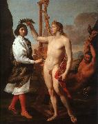 Andrea Sacchi Marcantonio Pasquilini Crowned by Apollo oil painting picture wholesale