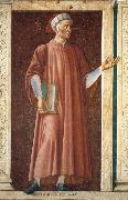 Andrea del Castagno Dante Allighieri oil painting picture wholesale