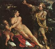 Annibale Carracci Venus, Adonis and Cupid China oil painting reproduction