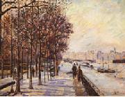 Armand Guillaumin Quai de la Gare oil painting reproduction