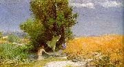 Arnold Bocklin Nymphs Bathing China oil painting reproduction