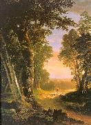 Asher Brown Durand The Beeches oil painting artist