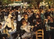 Auguste renoir Ball at the Moulin de la Galette oil painting picture wholesale