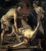 BABUREN, Dirck van Prometheus Being Chained by Vulcan oil painting picture wholesale