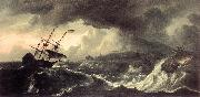 BACKHUYSEN, Ludolf Ships Running Aground in a Storm  hh oil painting picture wholesale