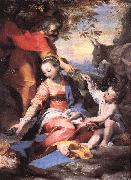 BAROCCI, Federico Fiori Rest on the Flight to Egypt sw oil painting picture wholesale