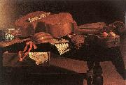BASCHENIS, Evaristo Musical Instruments oil painting