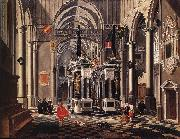 BASSEN, Bartholomeus van The Tomb of William the Silent in an Imaginary Church oil painting