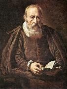 BASSETTI, Marcantonio Portrait of an Old Man with Book g oil painting picture wholesale