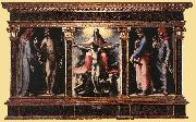 BECCAFUMI, Domenico Trinity fgj oil painting